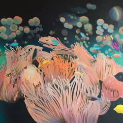 """Anemone"", 80 x 100 cm - no longer available"