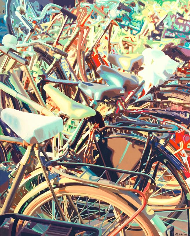 BikesII_S_100x80cm