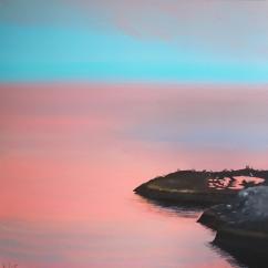 """Iceland"", 70 x 70 cm, € 550"