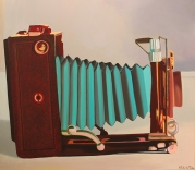 """La Compur"", 70 x 80 cm, € 700"