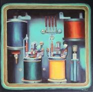 """""""Machine"""", 40 x 40 cm, € 400 - no longer available"""