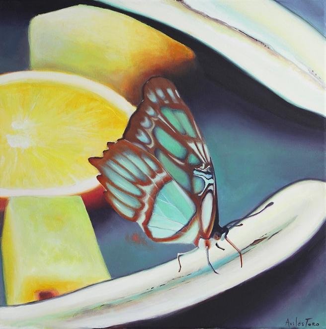 mariposaenfruta_S_50x50cm
