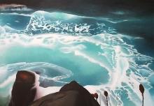 """Mi Pacífico"", 100 x 140 cm"