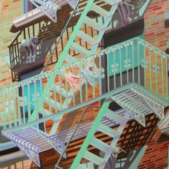 """New York intimo"", 100 x 80 cm"