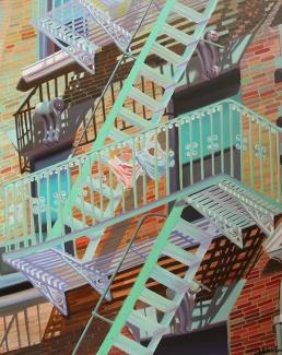 """New York intimo"", 100 x 80 cm, € 800"