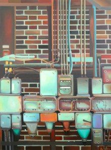 """Zeche Zollverein"", 80 x 60 cm, € 700"