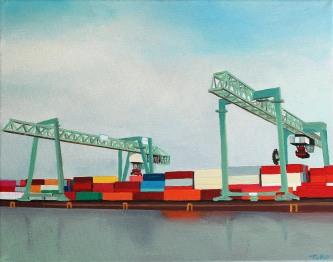 Hafen 2_24x30cm