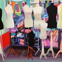 """Mannequins"", 50 x 60 cm -- €400"