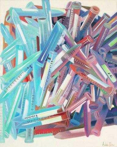 """My Sister´s Lab"", 50 x 40 cm -- €350"
