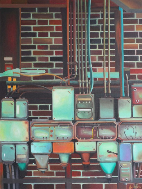 """Zeche Zollverein"", 80 x 60 cm -- €650"