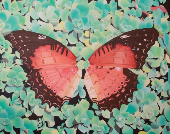 Nymphalidae_80x100cm